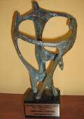 Statuetka - Energetab 2012