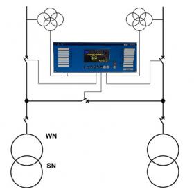 SZR ciągu liniowego ( 3 wyłączniki )